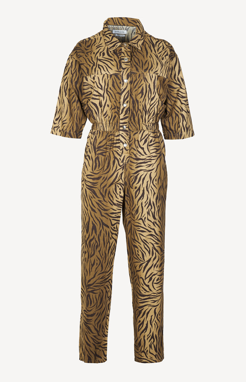 Jumpsuit Hope Twill in Zebra MossOverlover - Anita Hass