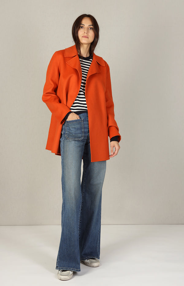Jacke Luxe New in Burnt OrangeTheory - Anita Hass