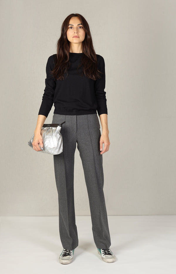 Gerade Hose in Charcoal BlackSee by Chloé - Anita Hass