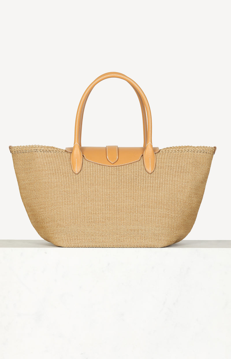 Shopping Tote in Beige/CamelErmanno Scervino - Anita Hass