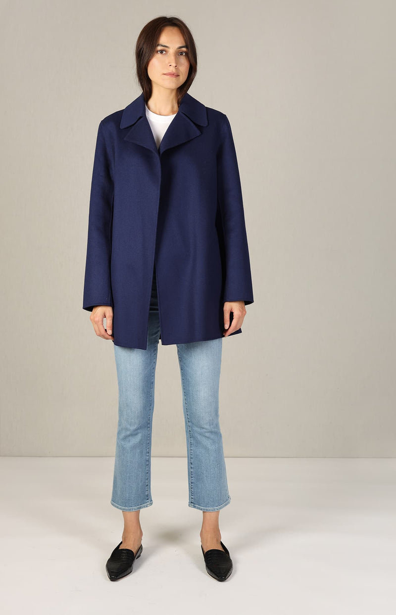 Jacke Luxe New in Bright NavyTheory - Anita Hass