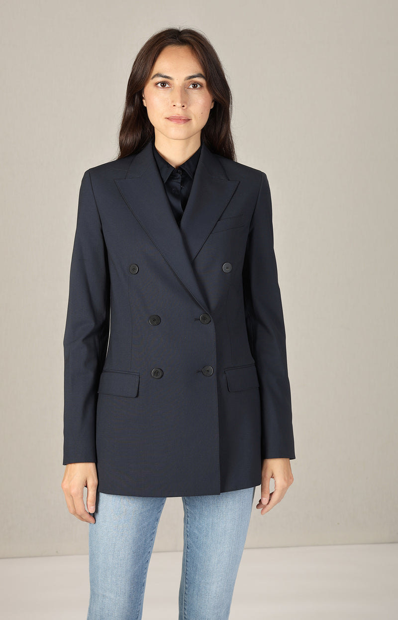 Blazer Tailor in Nocture NavyTheory - Anita Hass