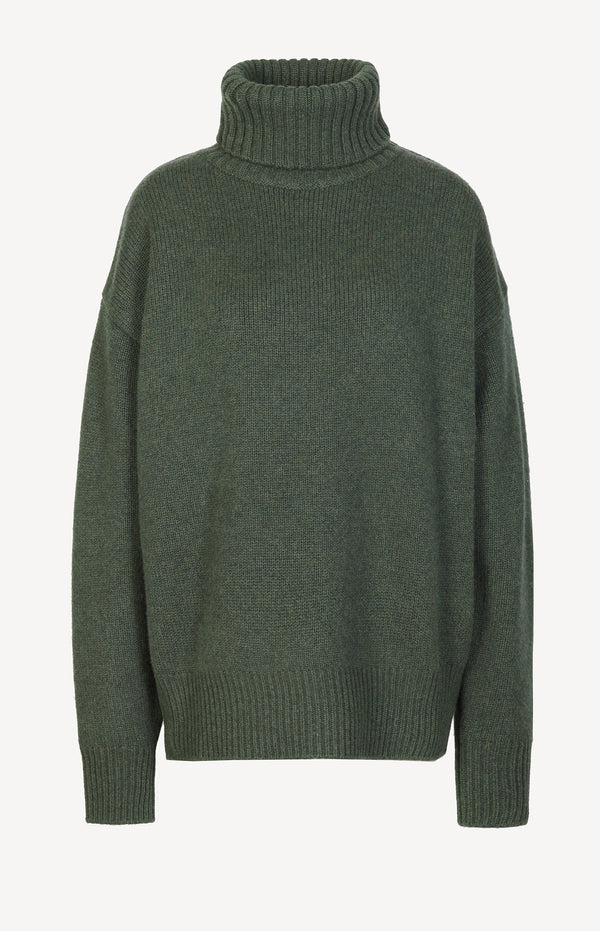 Pullover Oversize Xtra N° 20 in KhakiExtreme Cashmere - Anita Hass