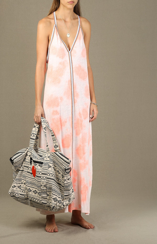 Kleid Tie Dye Sundress in CoralPitusa - Anita Hass