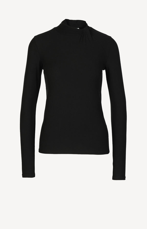 Long Sleeve Twist in SchwarzVince - Anita Hass