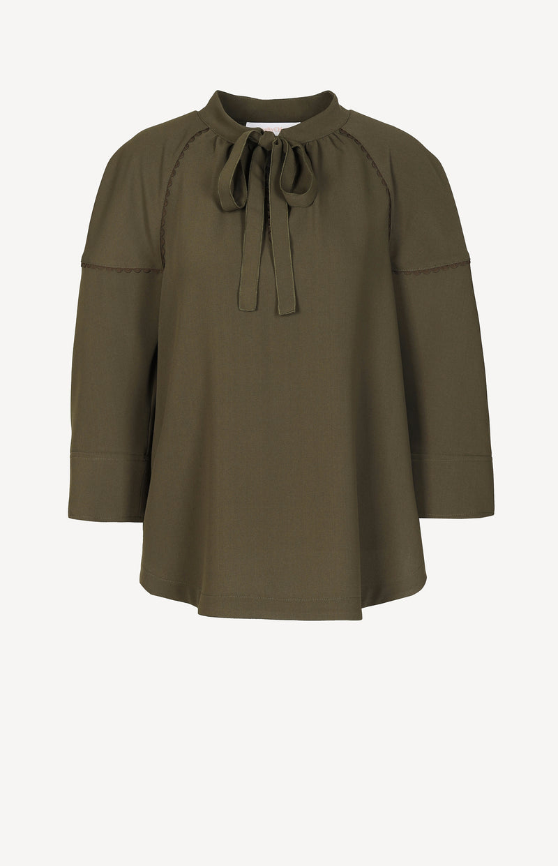 Tunika-Bluse in Dark OliveSee by Chloé - Anita Hass