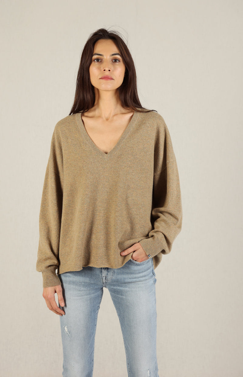 Sweater Clac N° 161 in HarrisExtreme Cashmere - Anita Hass