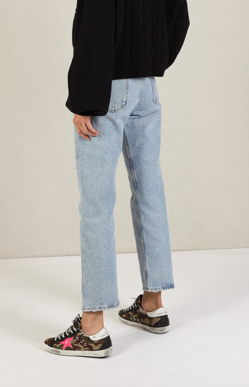 Jeans Ripley Mid Rise in RiptideAgolde - Anita Hass