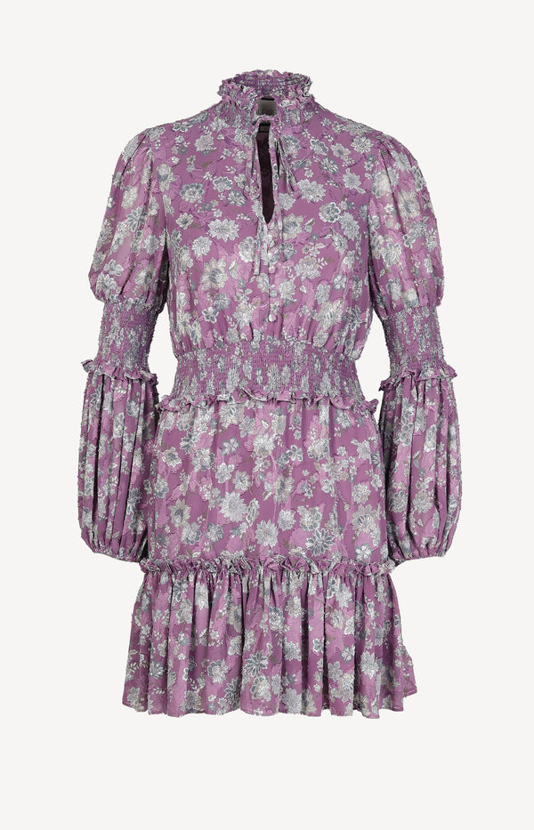 Kleid Rosewell in Lilac FloralAlexis - Anita Hass
