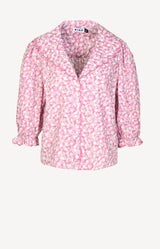 Bluse Carly in Faded Floral PinkRixo - Anita Hass