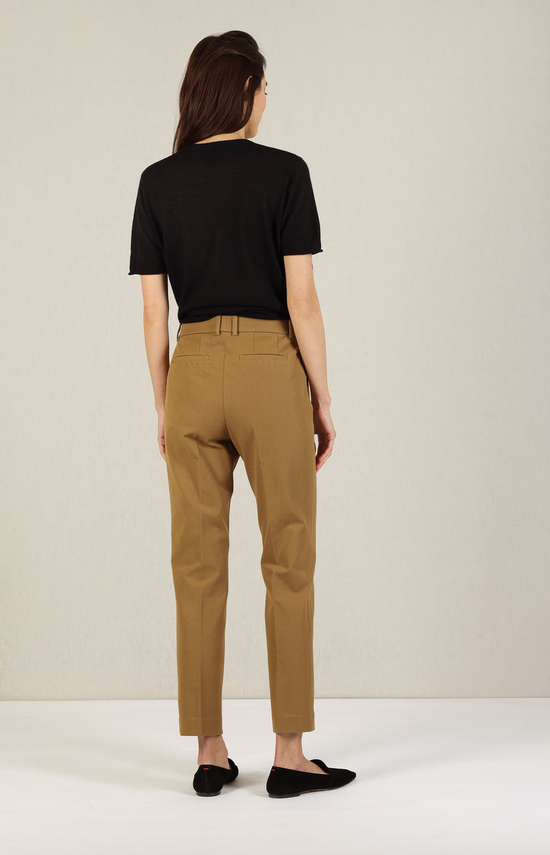 Hose Coleman Gabardine Stretch in SaddleJoseph - Anita Hass