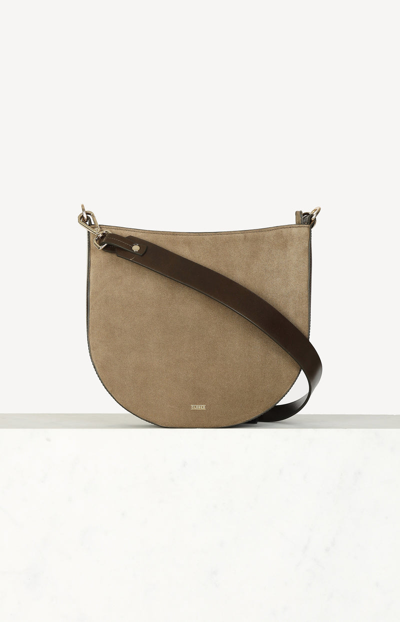 Tasche Daphne in Green UmberClosed - Anita Hass