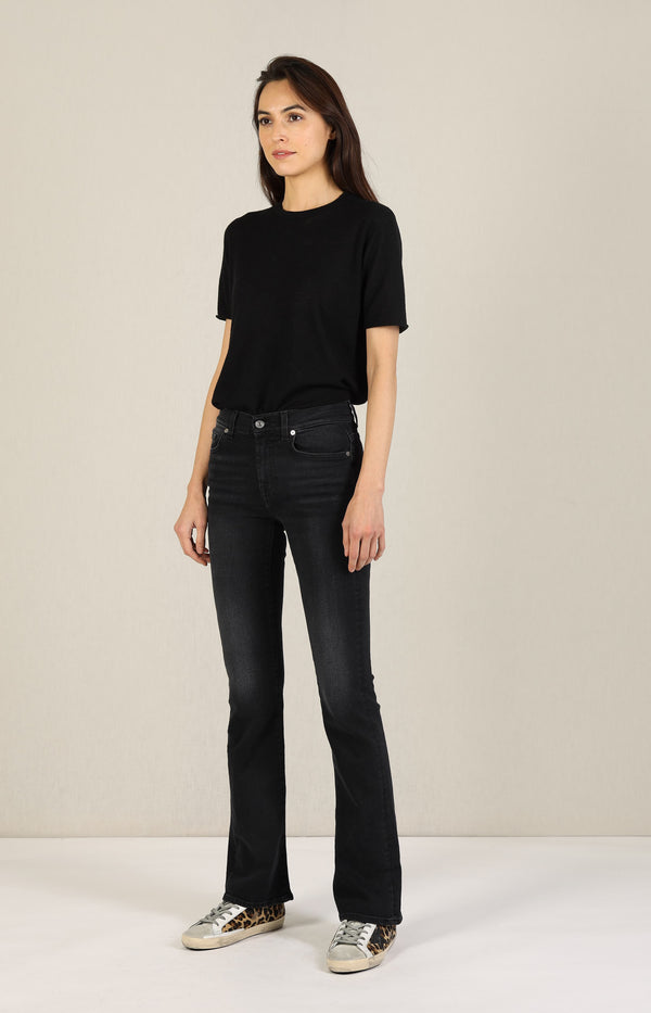 Jeans Bootcut Soho Black7 For All Mankind - Anita Hass