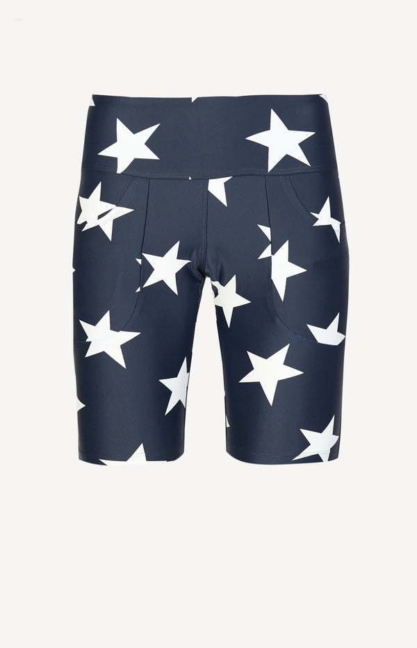 Biker Shorts in Navy StarR13 - Anita Hass