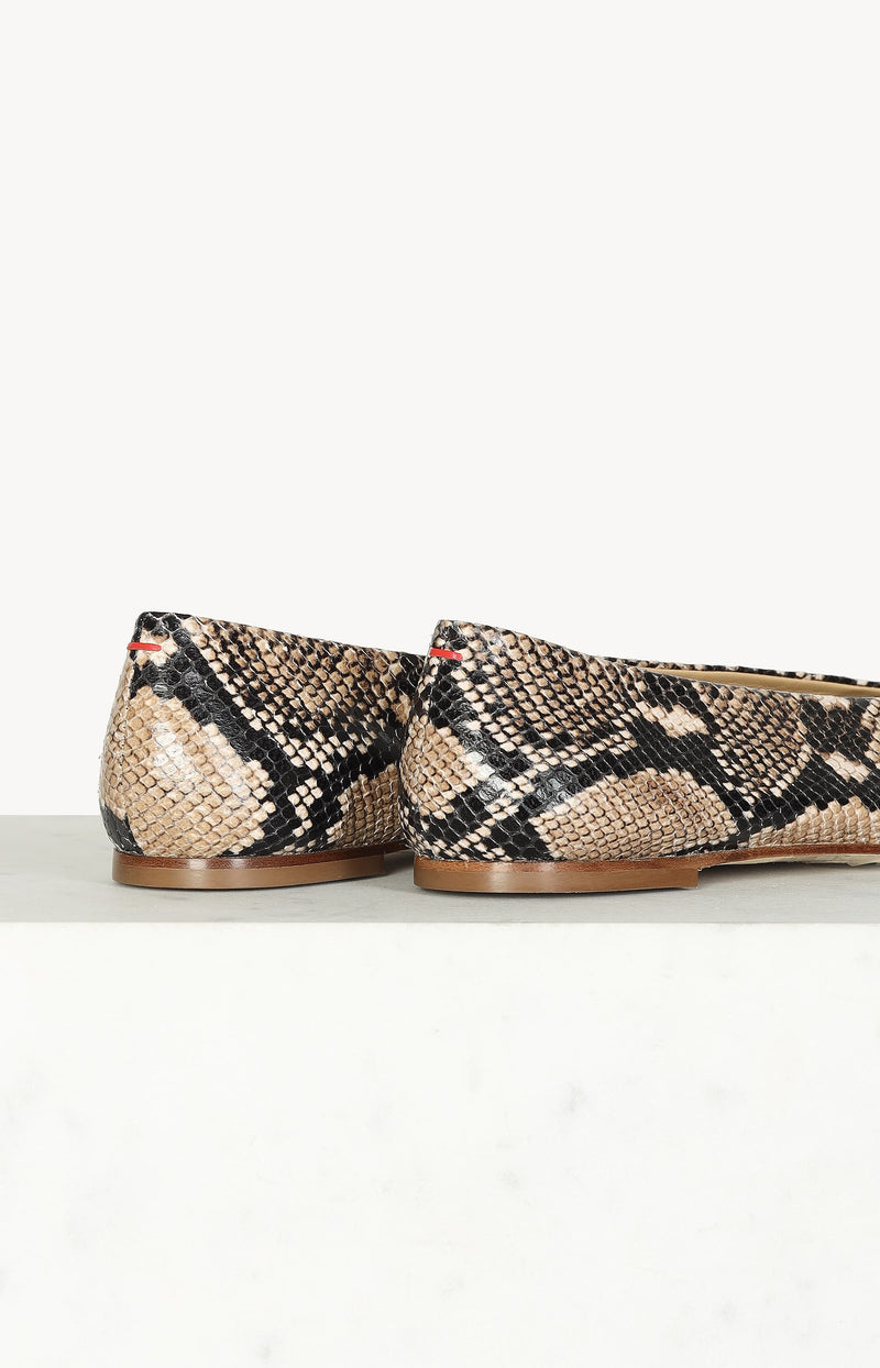 Loafer Betty Snake in Naturalaeyde - Anita Hass