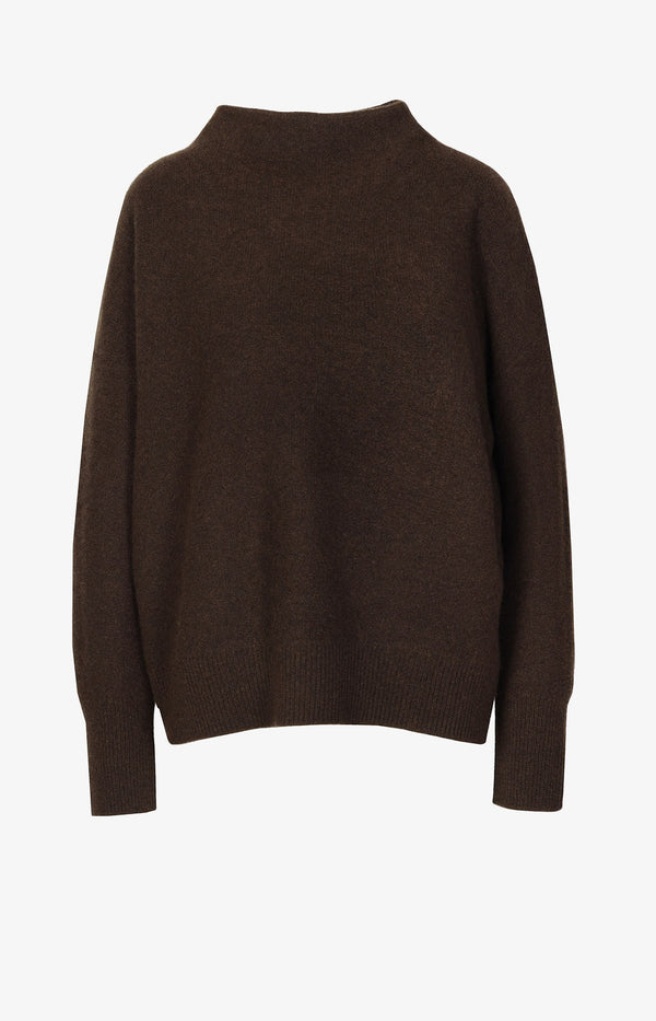 Kaschmirpullover in Brown StoneVince - Anita Hass