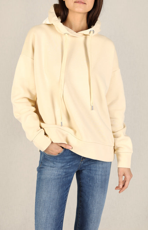 Hoodie mit Logo in Cashew NutClosed - Anita Hass