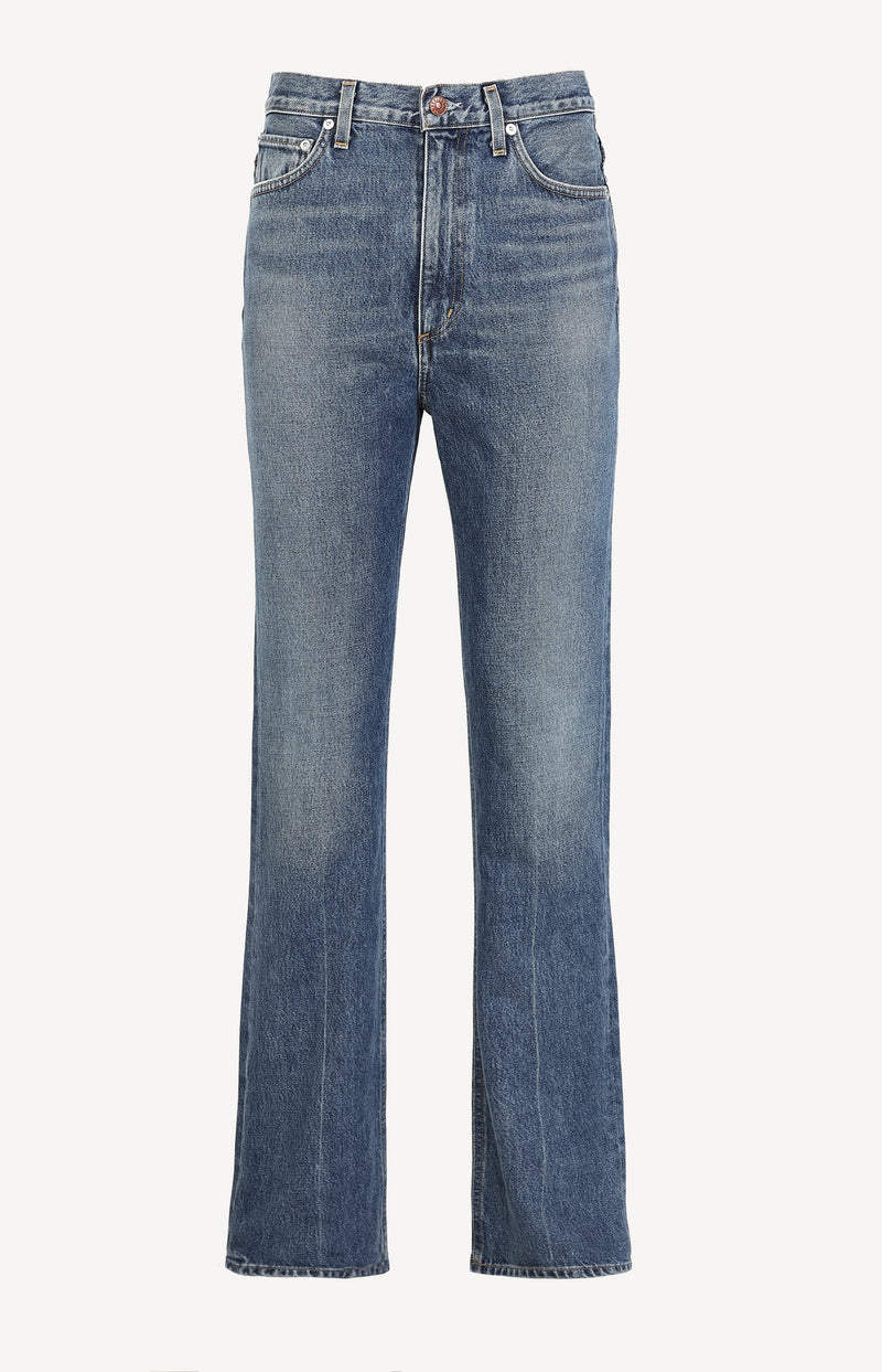 Jeans Vintage Hi Rise Flare in AbsoluteAgolde - Anita Hass