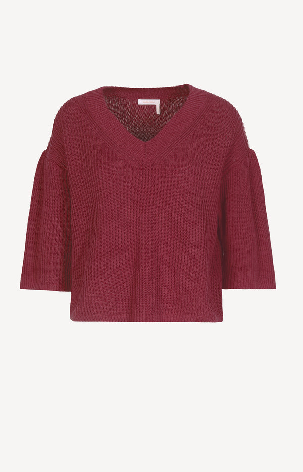 Leichter Pullover in Plum PurpleSee by Chloé - Anita Hass