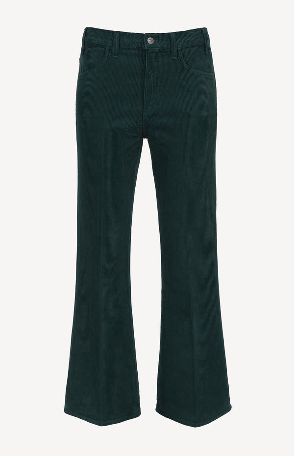 Cordjeans Amelia Vintage Flare in Midnight GreenCitizens of Humanity - Anita Hass