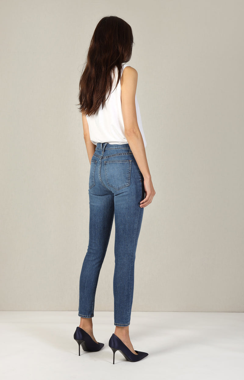 Jeans Debbie High Rise in Bright StoneVeronica Beard - Anita Hass
