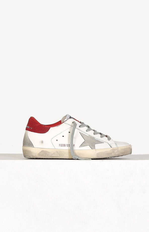 Sneaker Superstar in Weiß/Ice/RotGolden Goose - Anita Hass