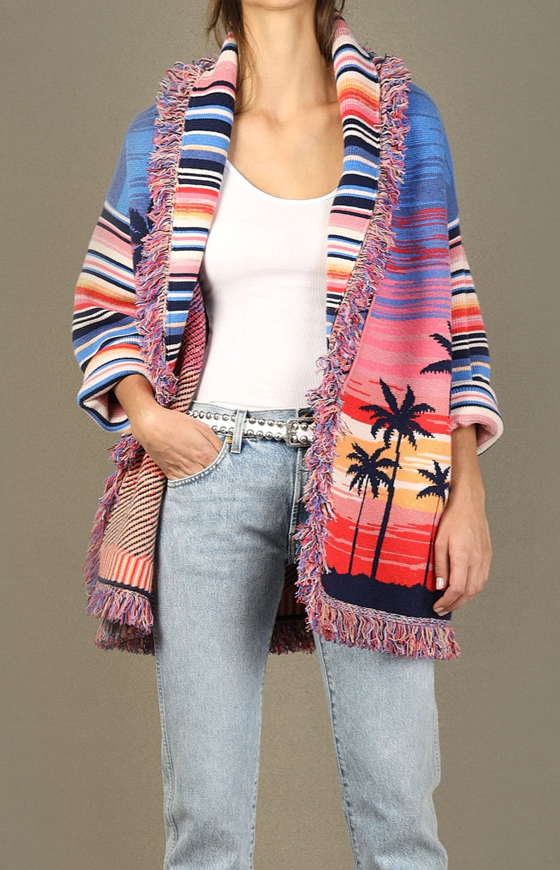 Cardigan Malibu Sunset in MulticolorAlanui - Anita Hass