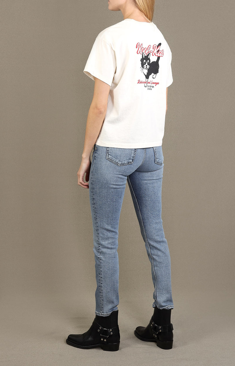 Jeans High Rise Ankle Crop in Mid 90sRE/DONE - Anita Hass