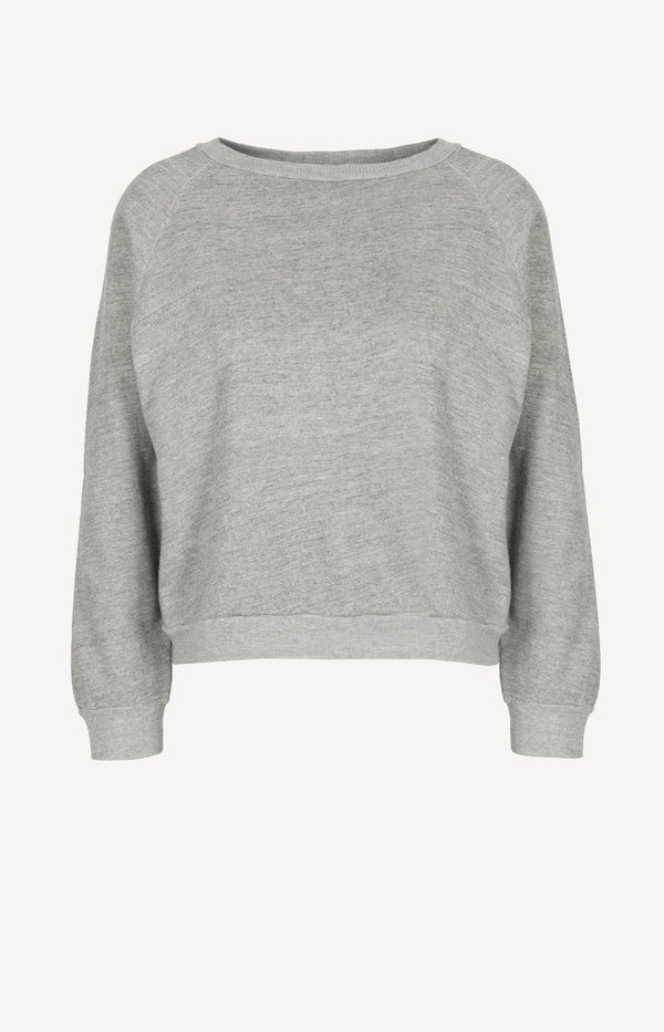 Sweatshirt Classic Crew Neck in Heather GreyNili Lotan - Anita Hass