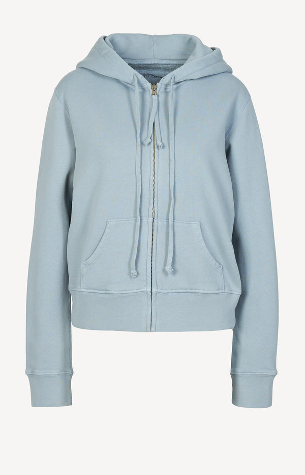 Zip Up Hoodie Callie in Slate BlueNili Lotan - Anita Hass