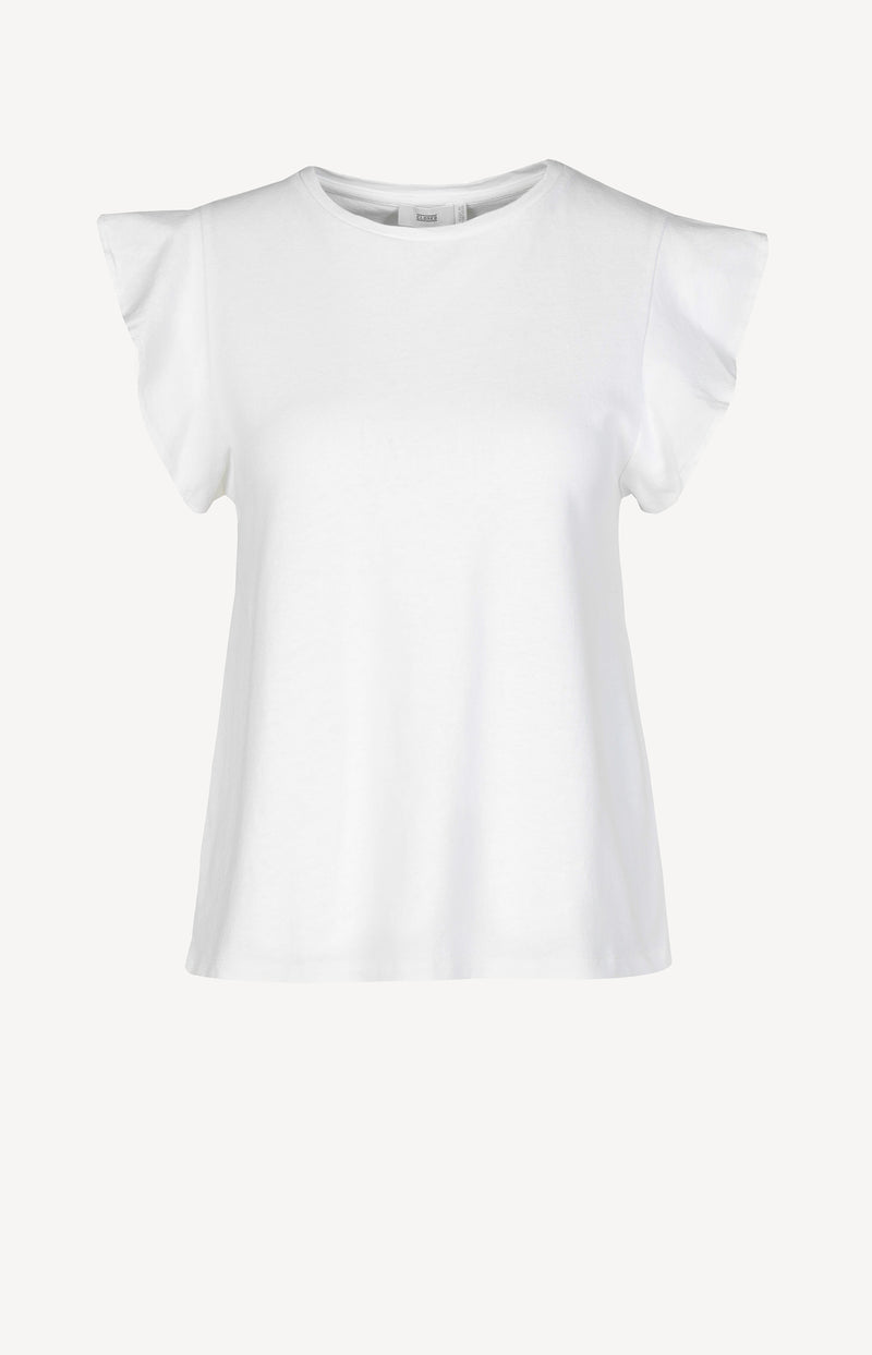 T-Shirt in IvoryClosed - Anita Hass
