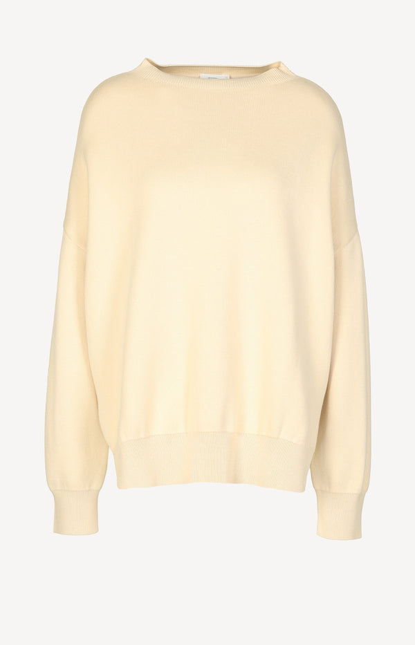 Oversized Pullover in Cashew NutClosed - Anita Hass
