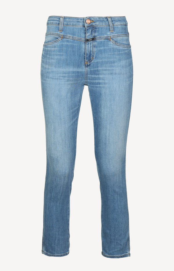 Jeans Skinny Pusher in Mid BlueClosed - Anita Hass