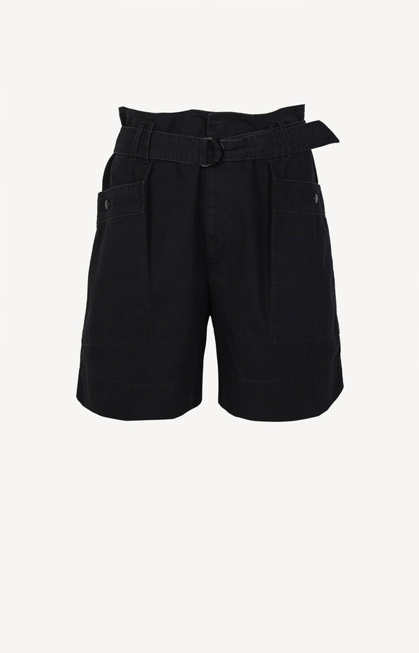 Shorts Zayna in Faded BlackIsabel Marant Étoile - Anita Hass