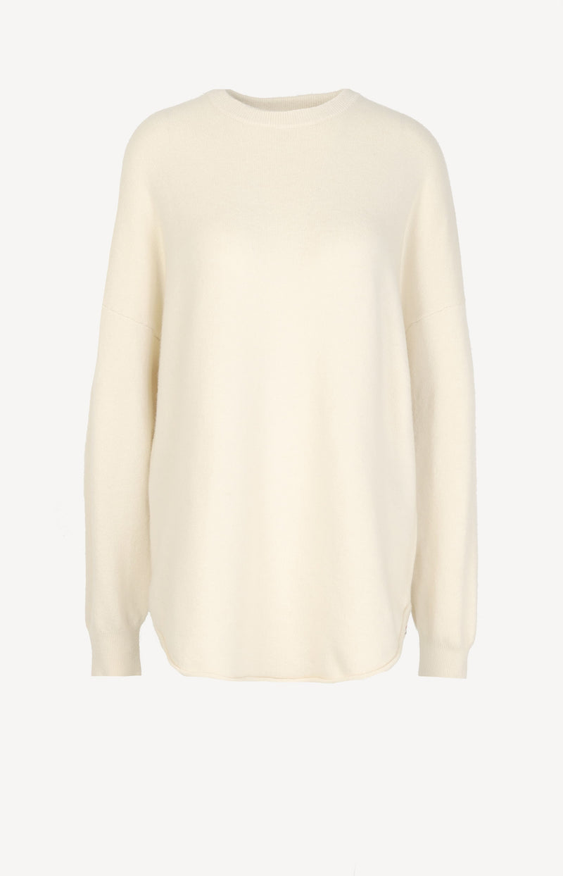 Pullover Crew Hop N° 53 in CreamExtreme Cashmere - Anita Hass