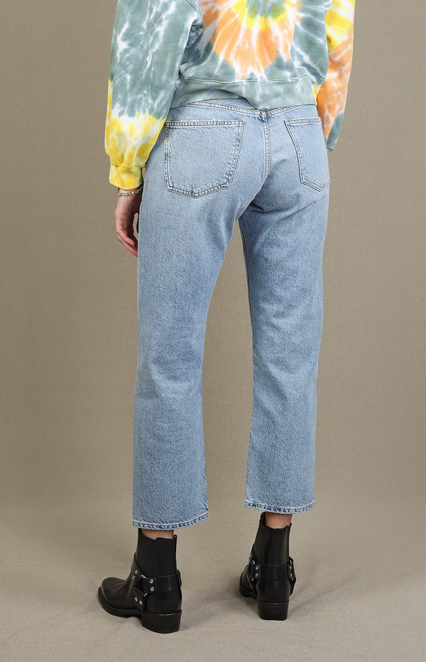 Jeans Parker Easy Straight in BlurAgolde - Anita Hass