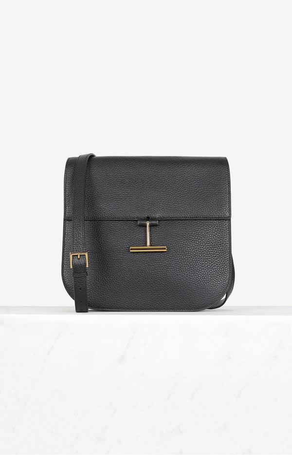 Tasche Tara Medium aus Vittello Crazy Grain in SchwarzTom Ford - Anita Hass