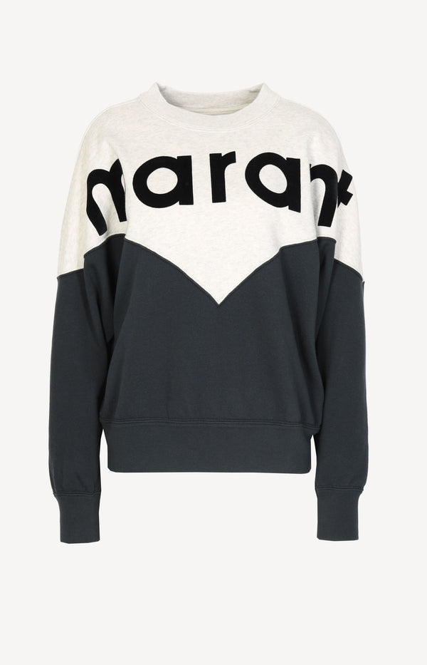 Sweatshirt Houston in Faded BlackIsabel Marant Étoile - Anita Hass