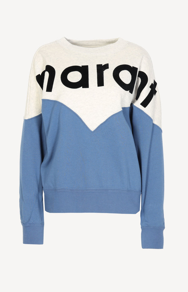 Sweatshirt Houston in BlauIsabel Marant Étoile - Anita Hass