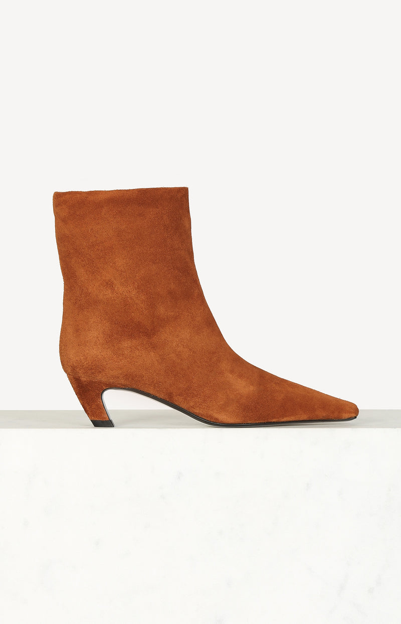 Ankle Boots Arizona in CaramelKhaite - Anita Hass