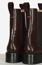 Boots Simone Polido in Chocolateaeyde - Anita Hass