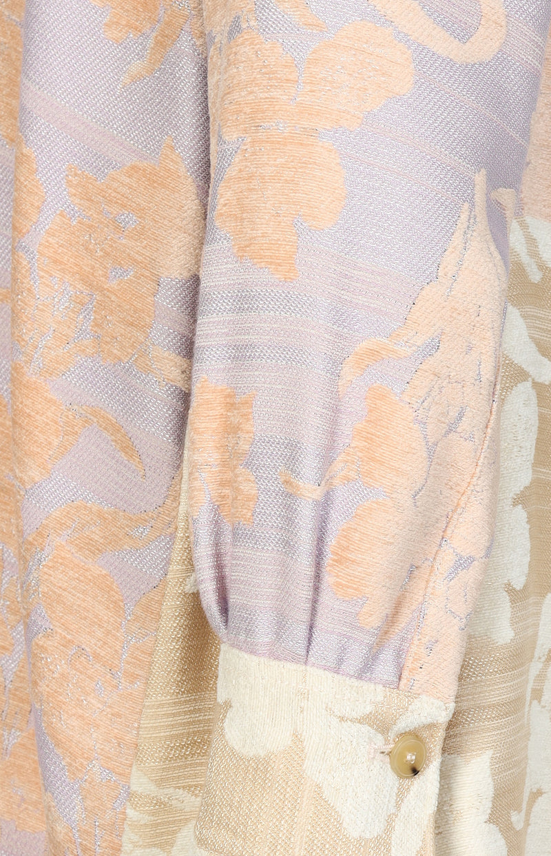 Jacquard-Bluse Bloom in RosieForte Forte - Anita Hass