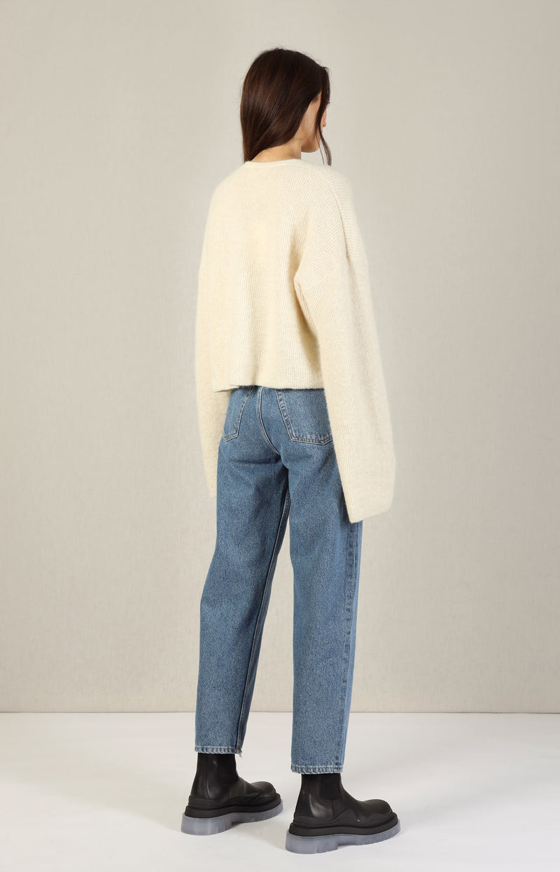 Cardigan Soho in Off-Whiteby Aylin Koenig - Anita Hass