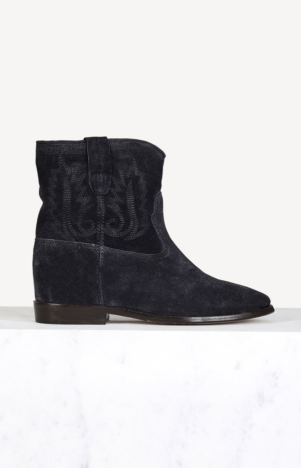 Boots Crisi in Faded BlackIsabel Marant - Anita Hass