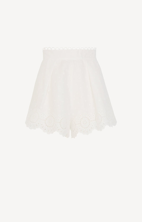 Shorts Bellitude Scallop in IvoryZimmermann - Anita Hass