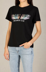 T-Shirt Ania Regular in SchwarzGolden Goose - Anita Hass