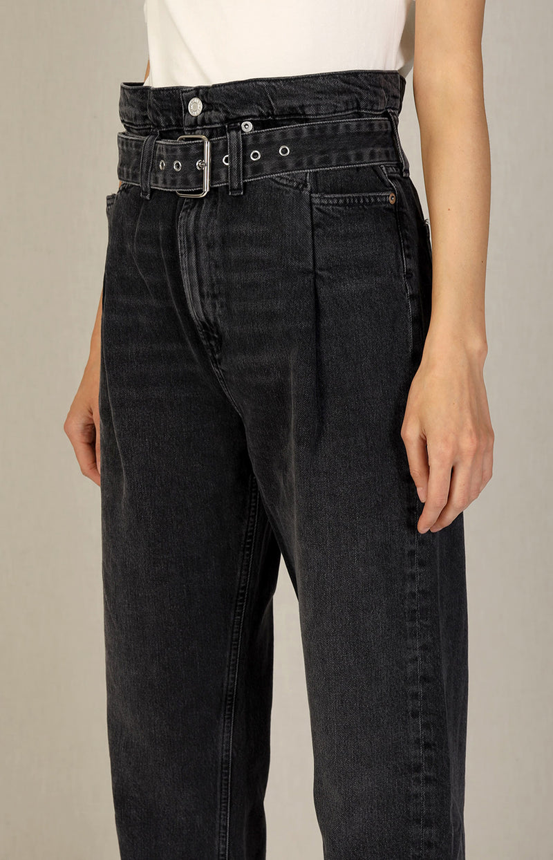 Reworked 90s Jeans in Pave GrauAgolde - Anita Hass