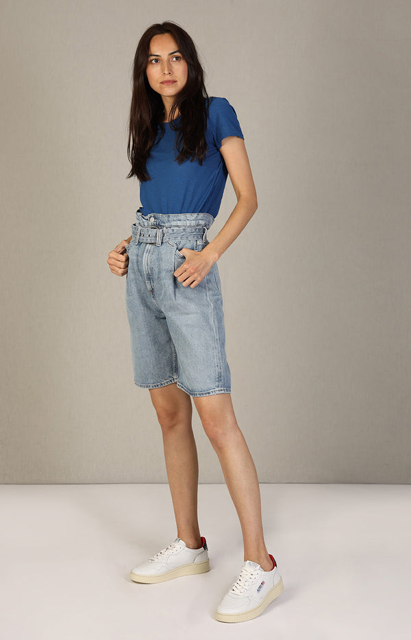 90s Jeansshorts in Revive BlauAgolde - Anita Hass
