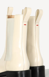 Boots Simone Polido in Creamyaeyde - Anita Hass