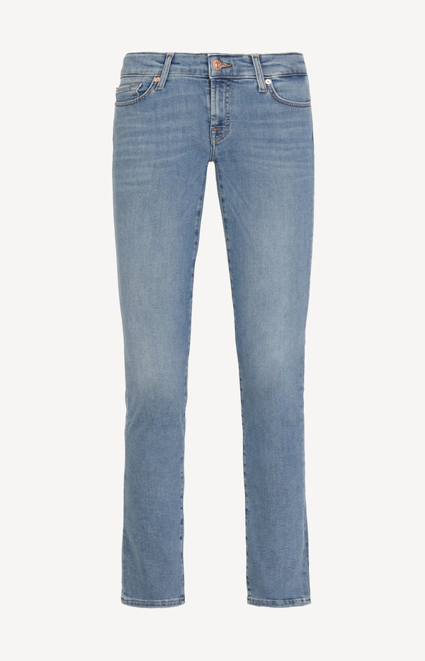 Jeans Pyper Slim Illusion Departed in Blau7 For All Mankind - Anita Hass